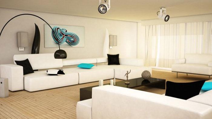 Arc Floor Lamp Living Room