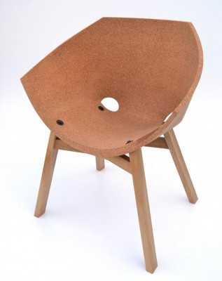 Korkigami stolica od plute