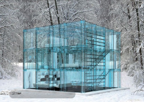 Staklena kuća by Karlo Santambrođo