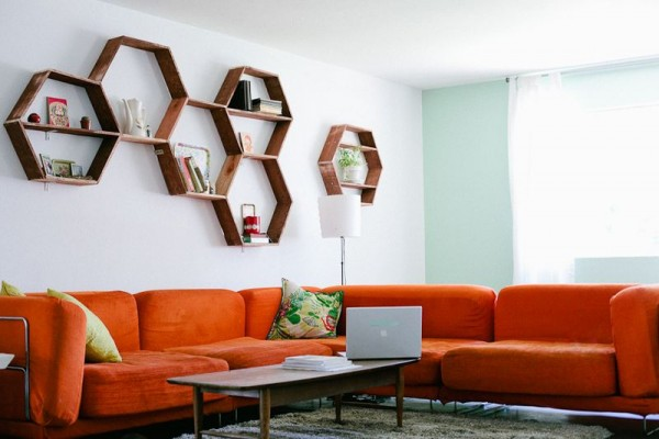 Police koje će vaš stan učiniti veselijim - Saće