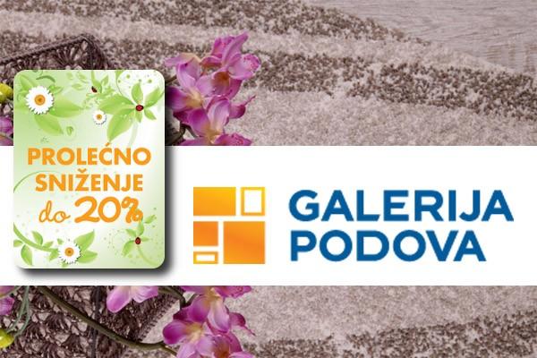 Vesela prolećna akcija u Galeriji Podova