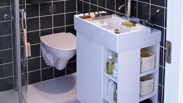 Kako pametno iskoristiti prostor u malom kupatilu