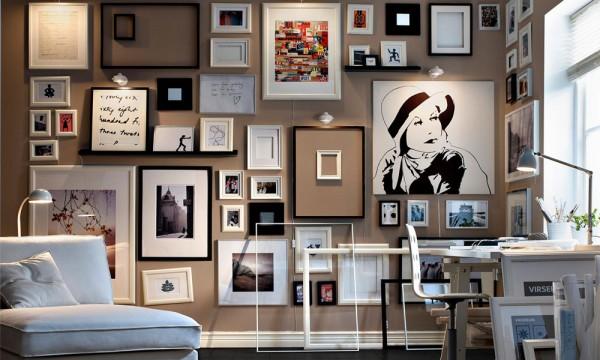 Ukrasite zidove slikama