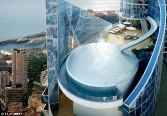 Igralište milionera: 250 miliona funti vredan penthaus u Monaku