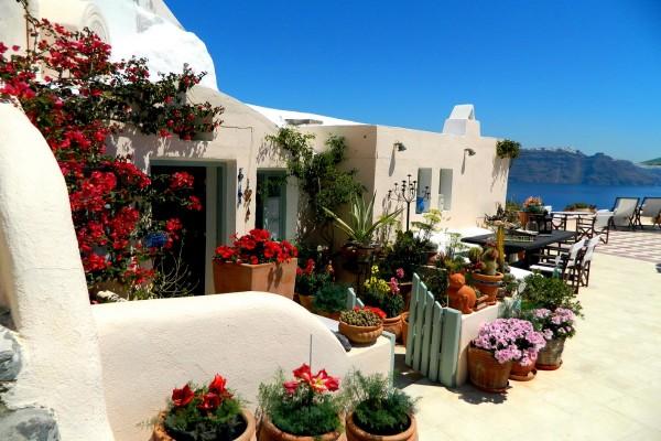 Aris Caves Hotel u Oia, Santorini