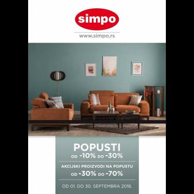 Simpo Katalog Septembar 2018