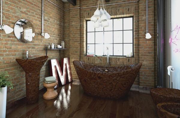 Zamislite kupatilo od 50 kilograma prave čokolade