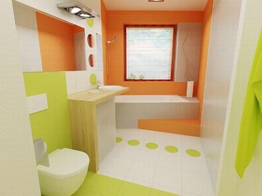 Mala kupatila - mnogo boje