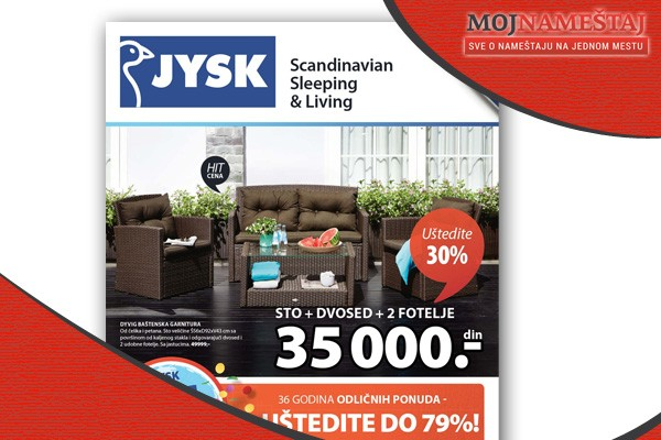 JYSK katalog Mart - April 2015