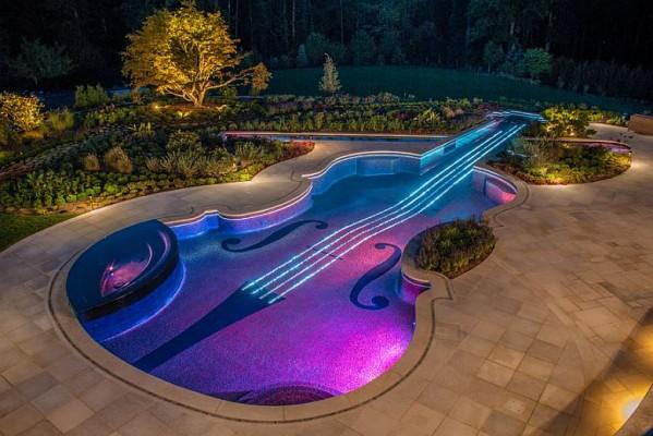 Lepota osvetljenih bazena (Galerija)