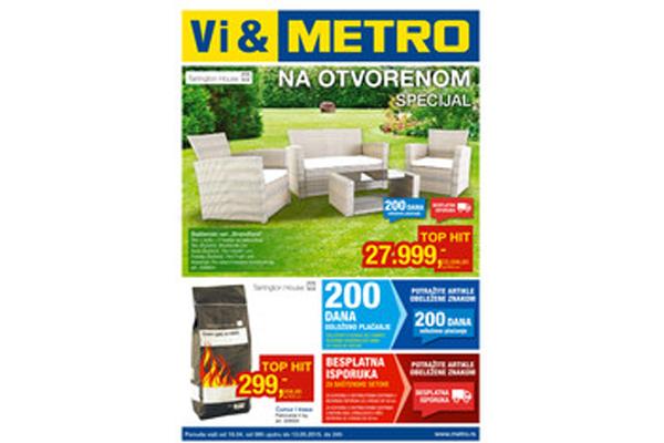 Metro katalog akcija - Sve za baštu