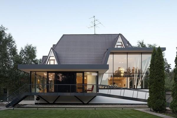 Pravi primer moderne arhitekture - očaravajuća N4 kuća u Moskvi
