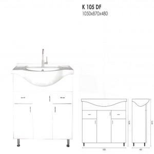 K 105 DF