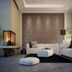 Wall Art 3D - Champagne 3d