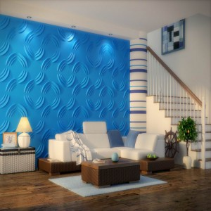 Wall Art 3D - Midnight Flow 3d