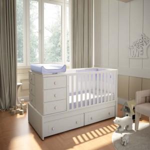 Soba za bebe Convertible Vintage
