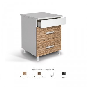 Kuhinjski element LUX D60F