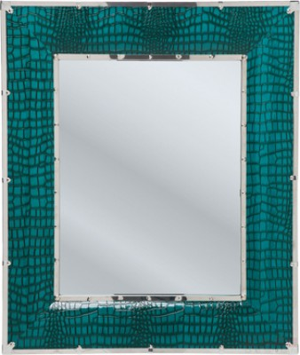 Mirror Croco Green 100x85cm