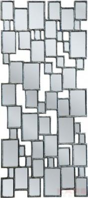 Mirror Cubes Silver Leaf 132x54cm