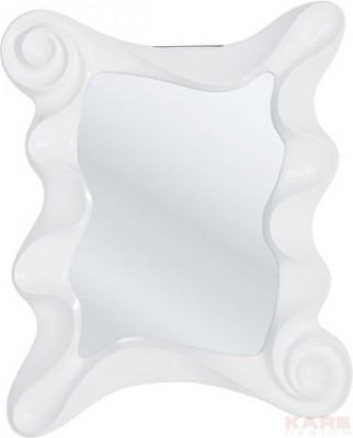 Mirror Wonderland White 130x105cm