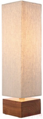 Table Lamp Square Wood Nature