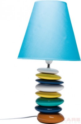 Table Lamp Pebbles Blue