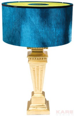 Table Lamp Antique Gold