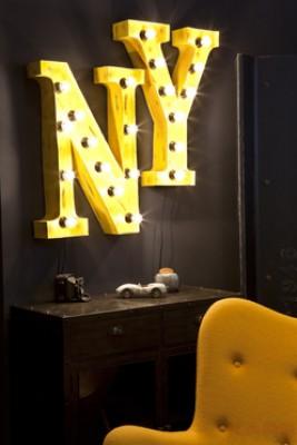 Wall Light Vintage NY