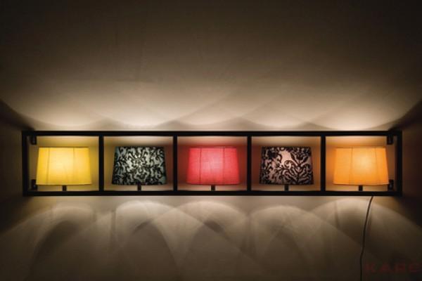 Wall Lamp Parecchi Horizontal Black