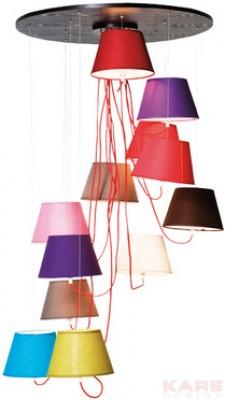Pendant Lamp Potpourrie 12 Lights