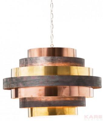 Pendant Lamp Belt Round Coffee