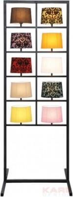 Floor Lamp Parecchi Black