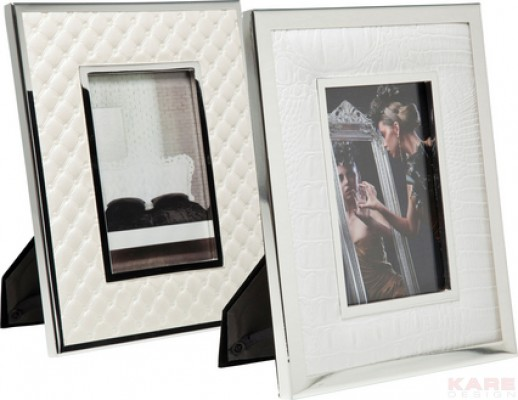 Frame White Texture 20x24cm Assorted