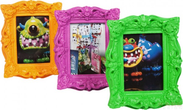 Frame Shocking Barock Neon 6x9cm Assorted