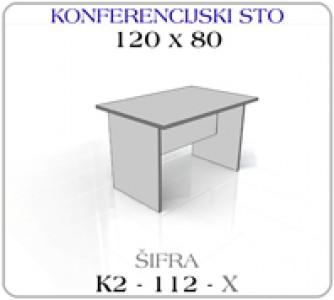 Konferencijski sto 120 x 80