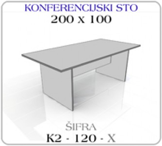 Konferencijski sto 200 x 100