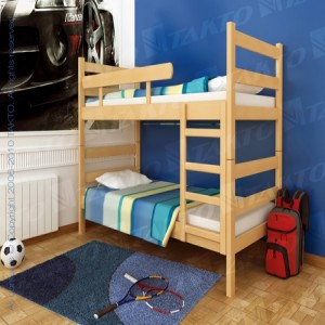 Krevet na sprat BLOK 90x190(200)cm