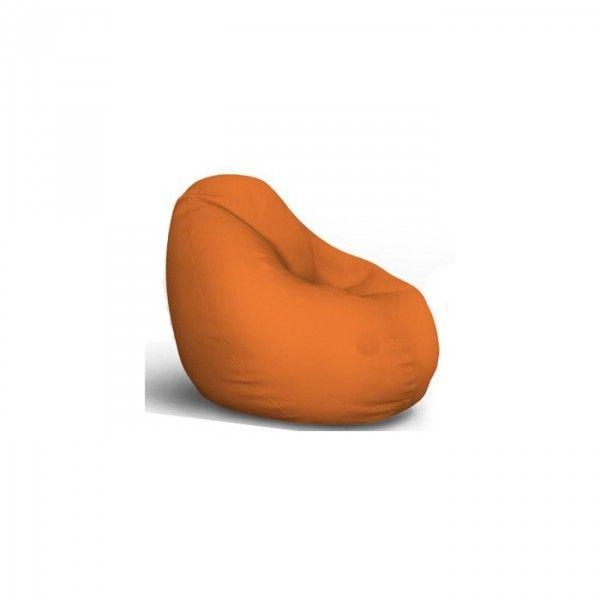 Lazy Bag - eko koža - narandžasta