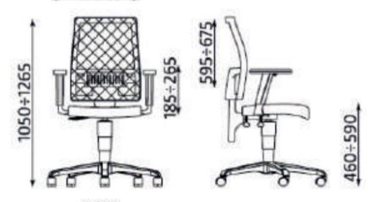 Radna stolica TAKTIK II MESH