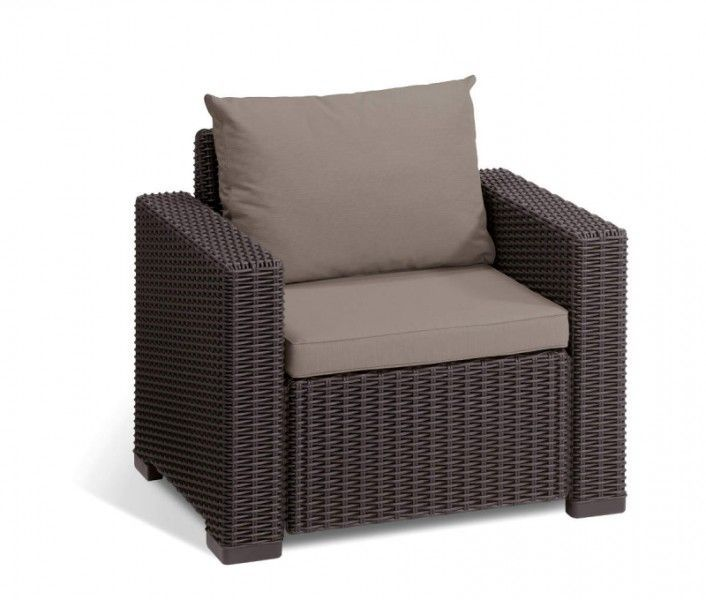 Baštenski set California 3 seater - braon
