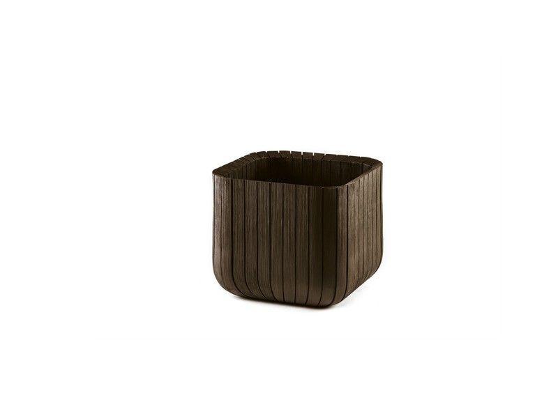 Saksija Cube M - braon