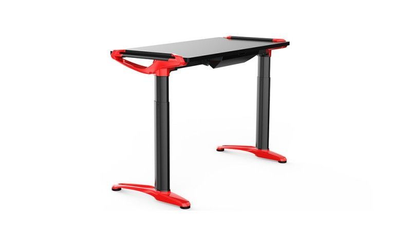 Devana E3 Adjustable Desk Black/Red