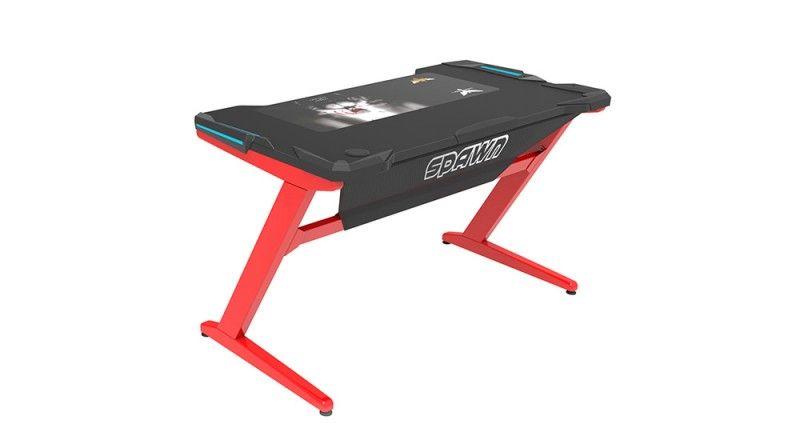 Horz Z1 Computer Desk Red/Black