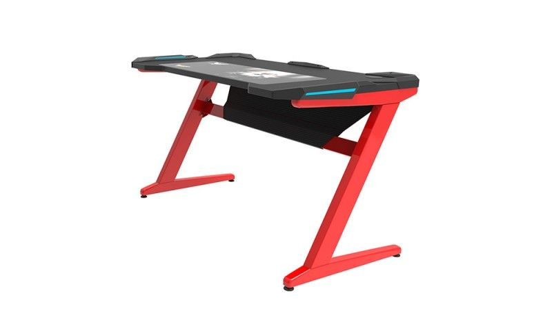 Horz Z1 Computer Desk Red/Black