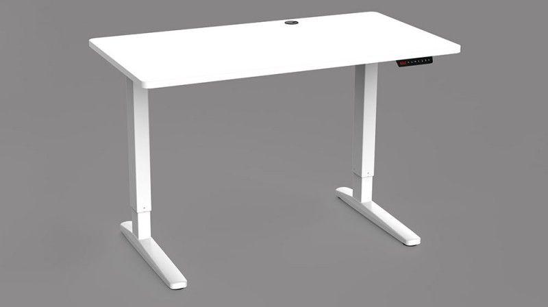 Proven E2-12 Adjustable Desk White/White