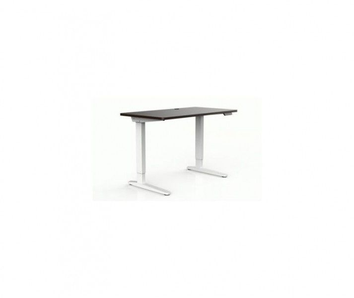 Proven E2-14 Adjustable Desk White/Brown