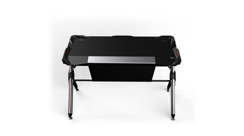 Talason R1 Computer Desk Silver/Black