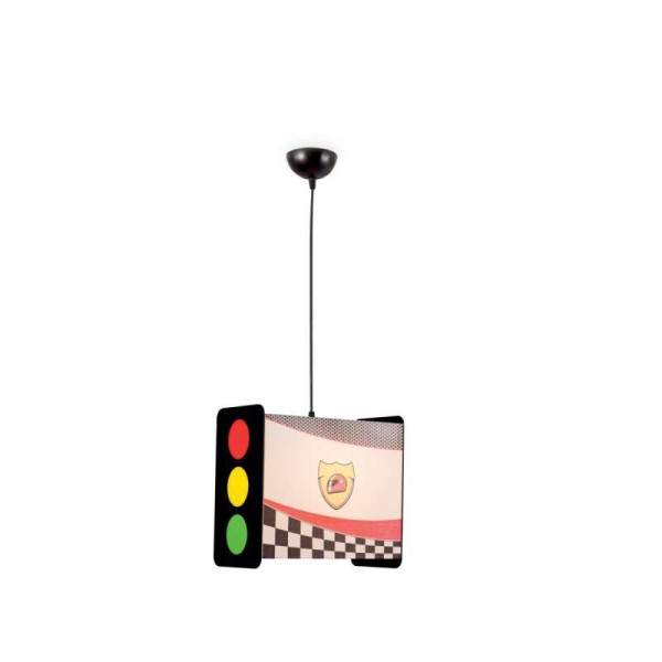 TRAFFIC LIGHT LUSTER