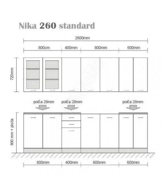 NIKA TAFLA B 260
