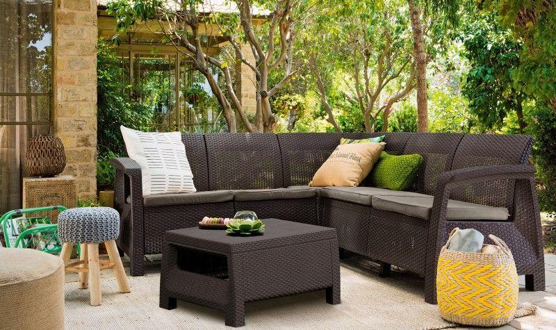 Baštenski set Bahama Relax - braon CU 233613
